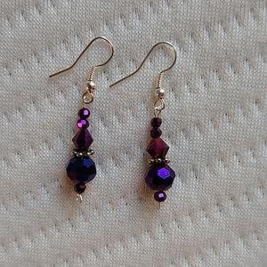 Jewelry - Purple Bracket and earring set